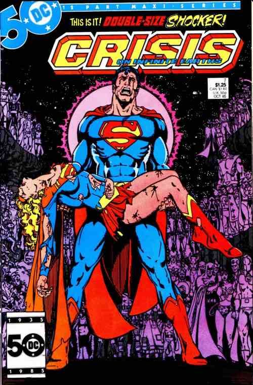 Though one of many characters killed during Crisis on Infinite Earths, Supergirl was probably the most popular character to meet her end.