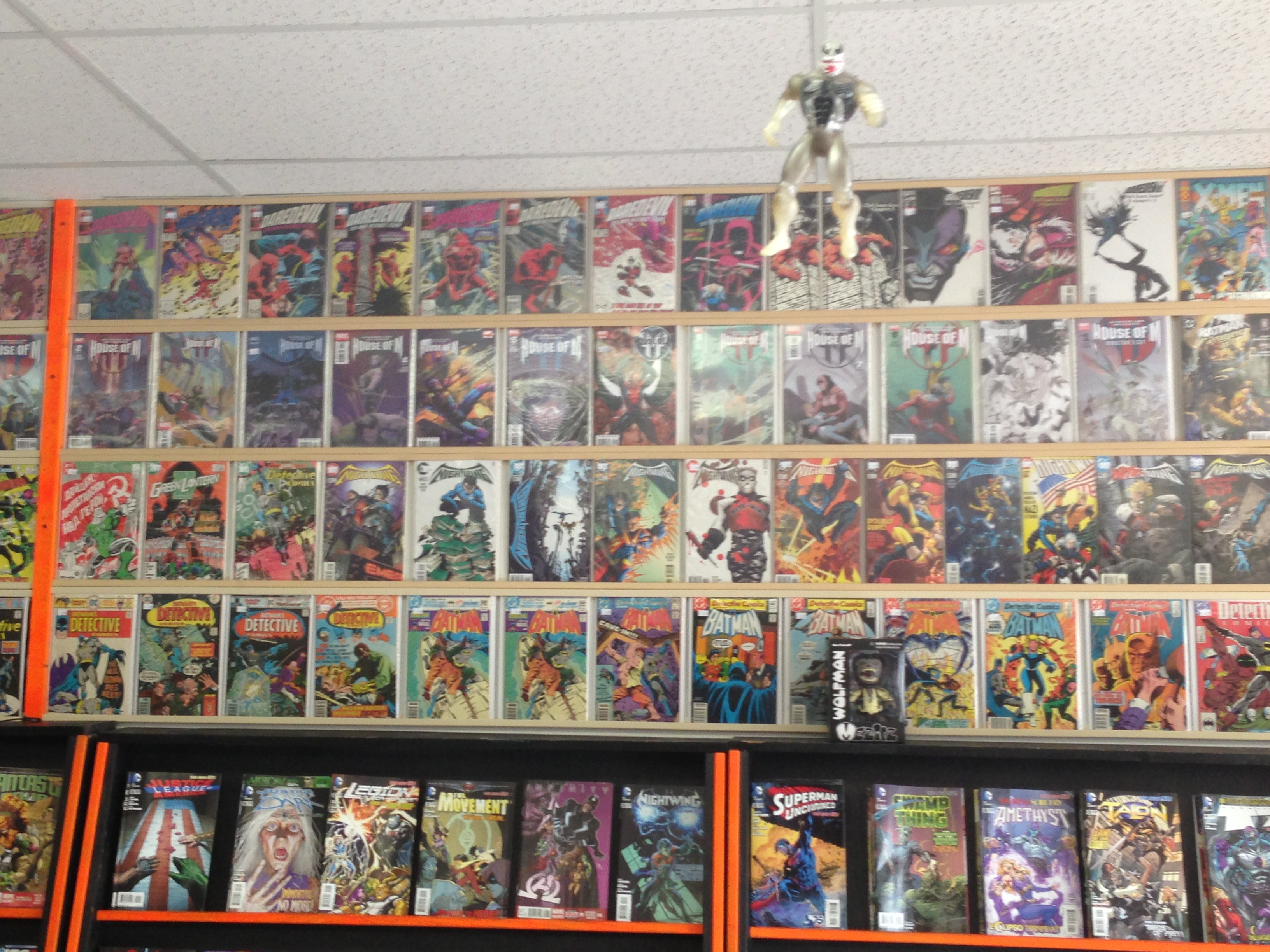 comic book stores therefore i geek