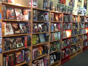 Graphic Novels as far as the eye can see...