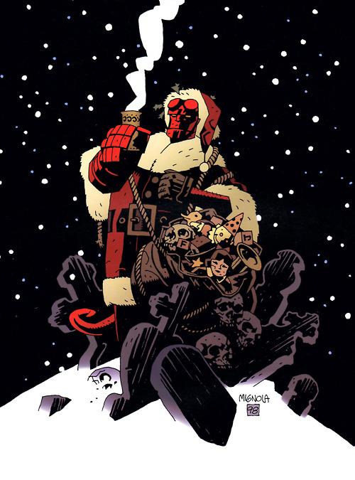 hellboy christmas