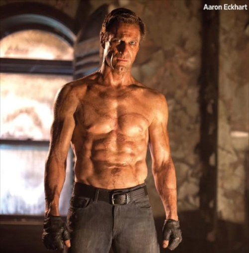 Aaron Eckhart as Adam.