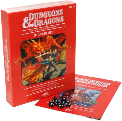 red box dungeons and dragons