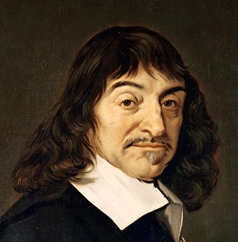 With that long hair and facial hair, Descartes is already half way to a hipster.