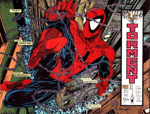 Nobody does Spider-Man's webs quite like Todd McFarlane.