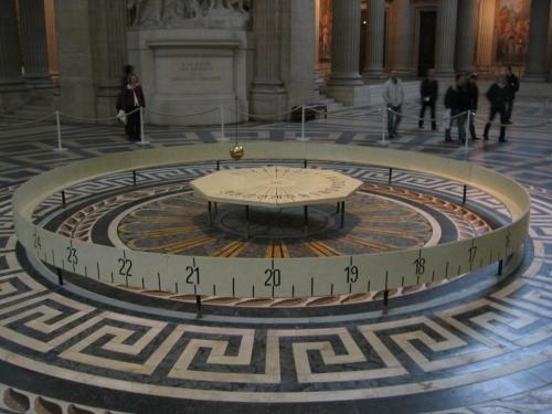 A Foucault Pendulum