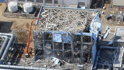 One of Fukushima's three damaged reactors.