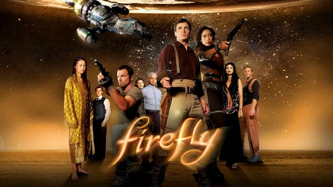 Top five favorite tv shows Firefly-cast