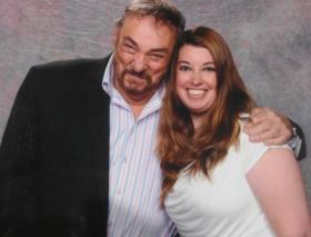 Tracy met John Rhys-Davies!