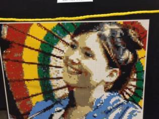 A Lego Kaylee mosaic