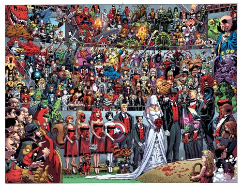 Deadpool's Wedding