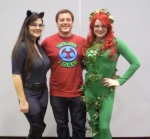 Guest blogger Kurt Klein poses with two lovely ladies!