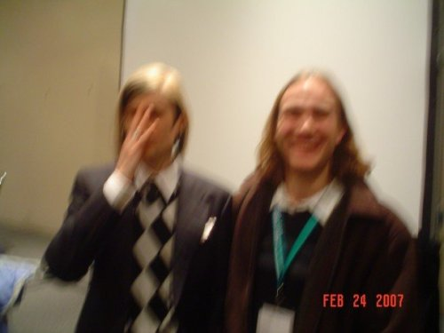 Joseph and Doc Hammer...Taken by Chris