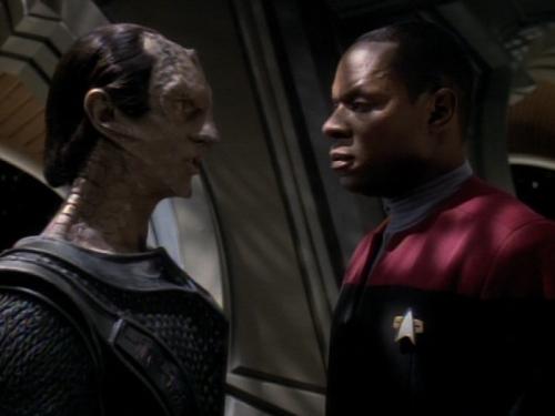 Sisko and Dukat