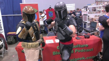 These guys did a pick-up interview on the Therefore I Geek podcast! Check out the Mandalorian Mercs!