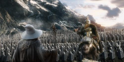 Gandalf and Dain