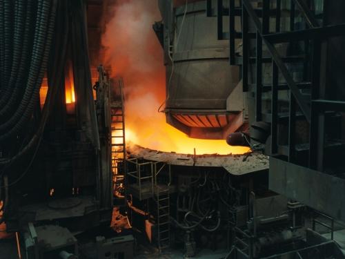 A Modern Blast Furnace.