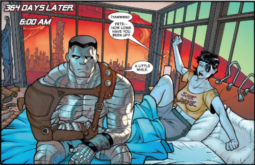 Colossus obsessing.
