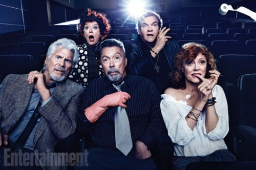 Rocky Horror Picture Show turns 40 (cast photo from Entertainment Weekly)